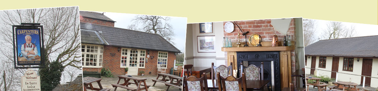 Snapshots of the Carpenters Arms, South Marston